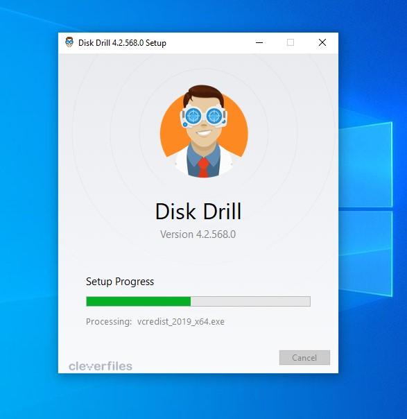 Disk Drill Intallation