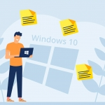 Recover deleted sticky notes on Windows 10