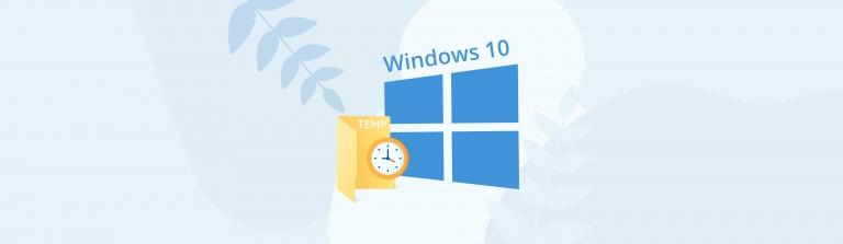 Recover temp files on Windows